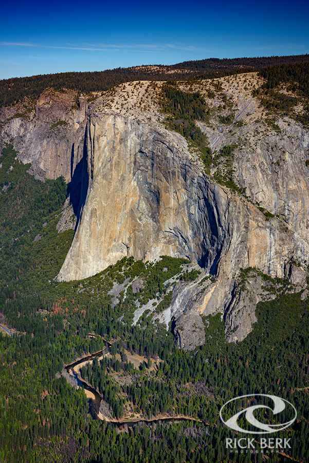 El Capitan viewed from Taft Point.