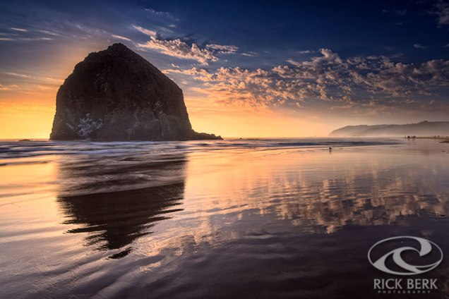 Sunset on Cannon Beach
