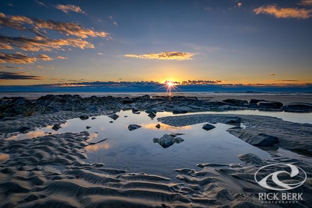 Sunrise Over Wells Beach