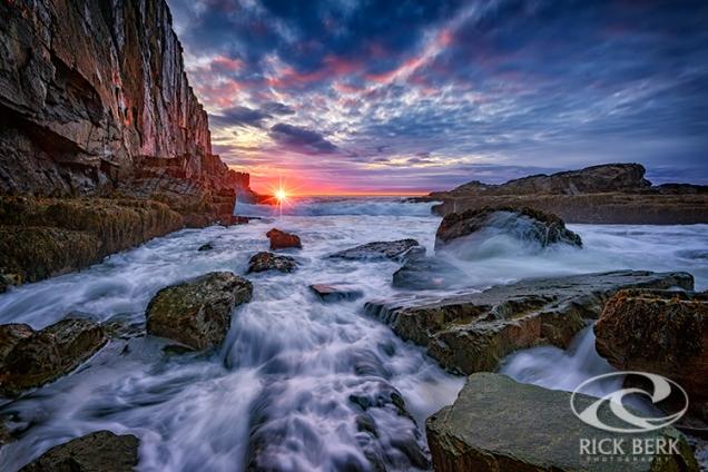 Sunrise at Bald Head Cliff