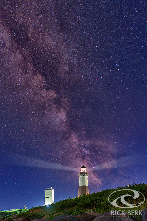 Montauk Point and the Milky Way