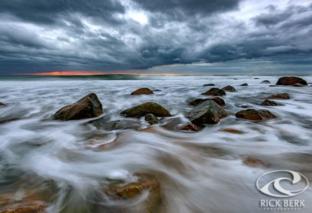 Late Autumn Storm at Montauk Point