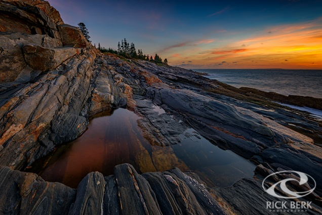 Dawn Over Pemaquid Point