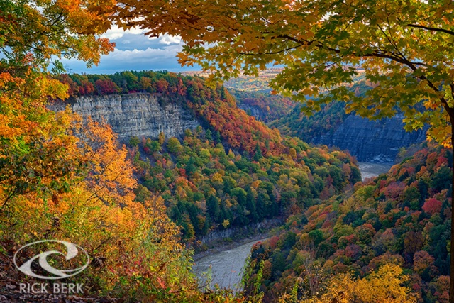 Autumn on the Genesee II