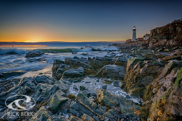 Spring Sunrise at Portland Head