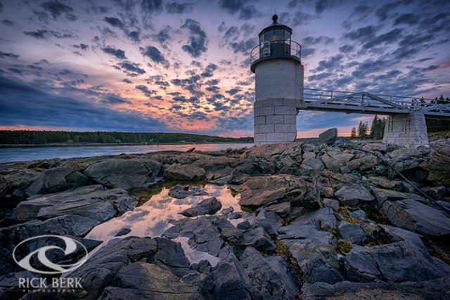 Sunset at Marshall Point