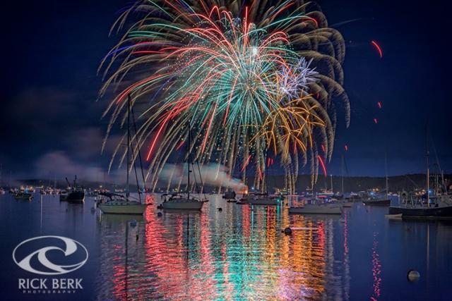 Celebration in Boothbay Harbor