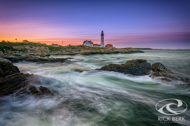High Tide at Portland Head Lighthouse