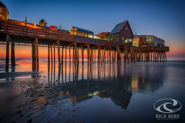 Dawn On Old Orchard Beach