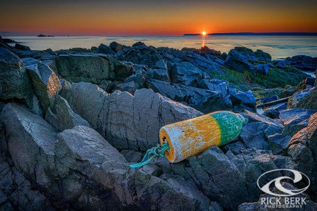 Sunrise on Passamaquoddy Bay