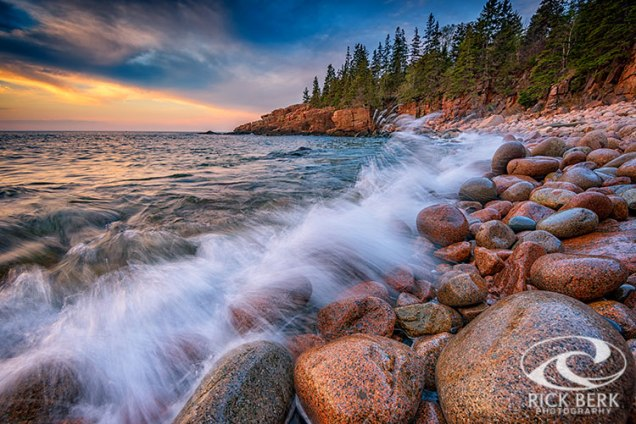 Spring Morning In Acadia National Park