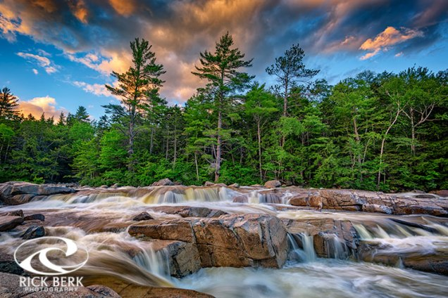 Lower Falls On Kancamagus Highway