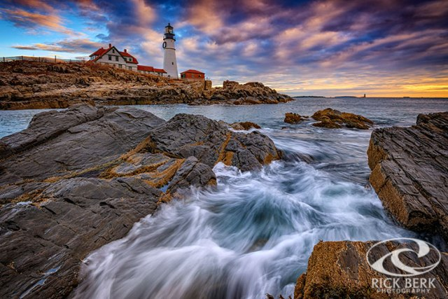 November Morning At Portland Head Lighthouse