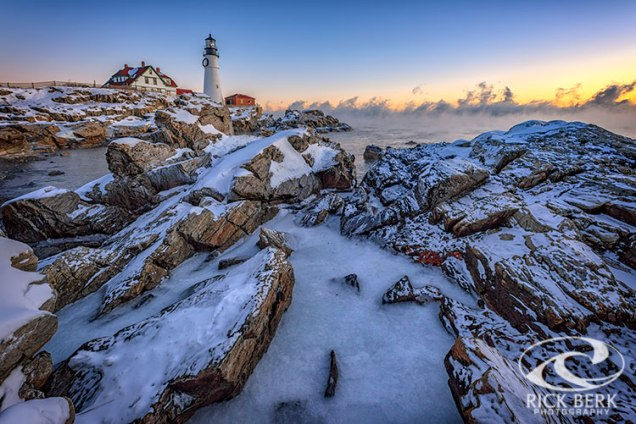 New Years Morning at Portland Head Lighthouse