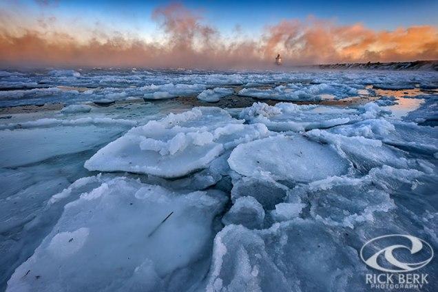 Ice in Portland Harbor