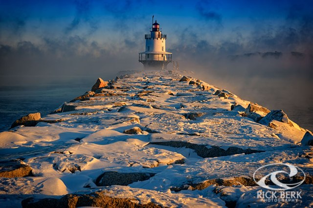 Winter Morning at Spring Point Ledge Lighthoue