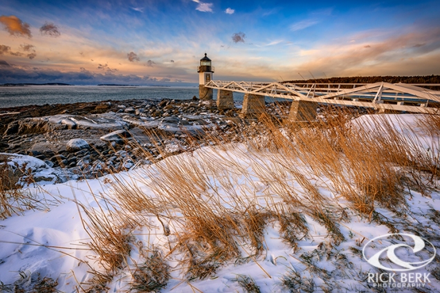 January Morning at Marshall Point