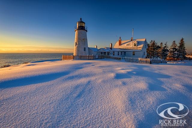 January Morn at Pemaquid Point