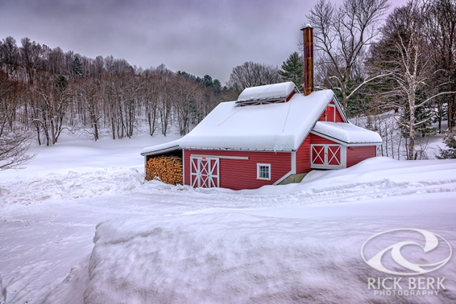 Winter at the Maple Sugar Shack