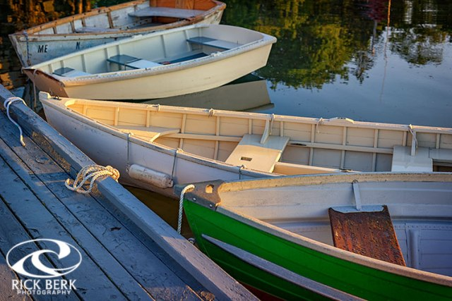 Skiffs in Tenants Harbor