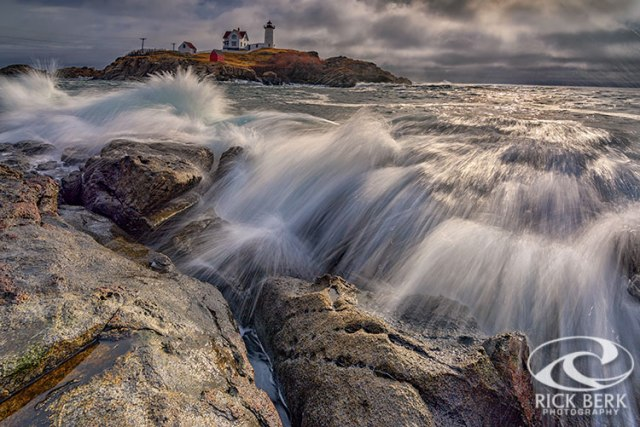 High Tide at Cape Neddick
