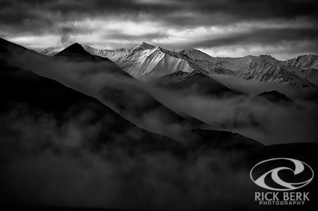 Alaskan Peak In The Shadows