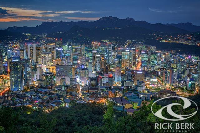 The Seoul Skyline