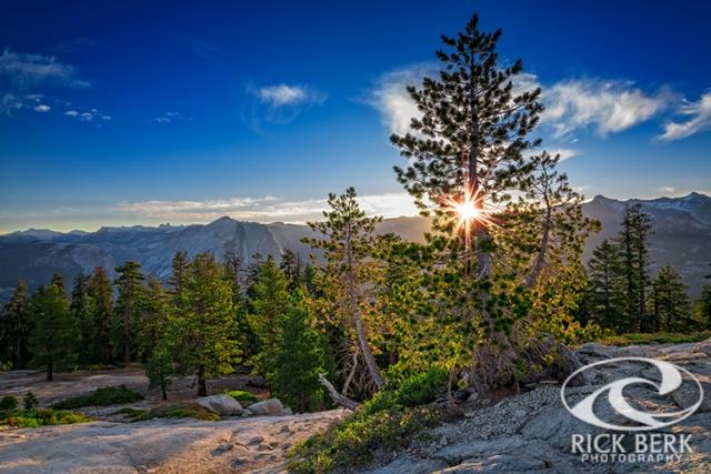 Sunrise on Sentinel Dome