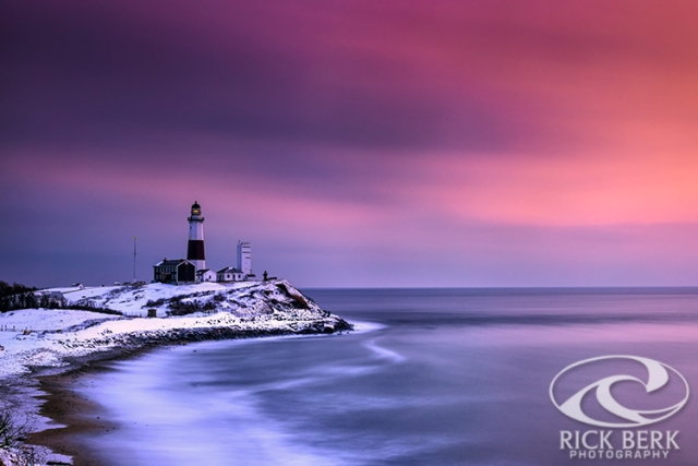 Winter's Glow at Montauk Point