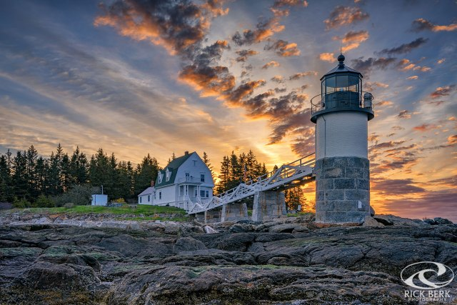 Sunrise at Marshall Point