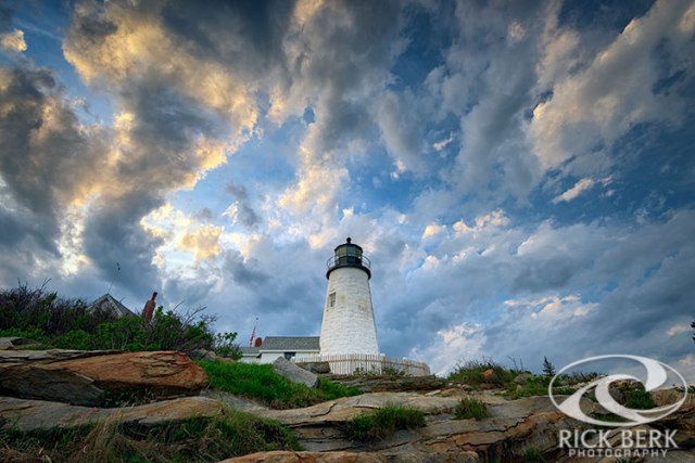 Gathering Clouds at Pemaquid Point