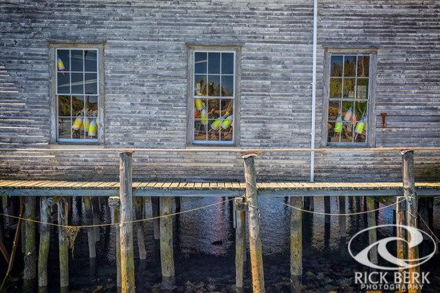 Windows Of The Lobstermen's Shop