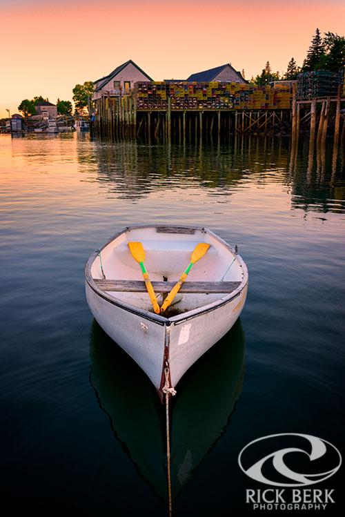Dory in Bernard Harbor