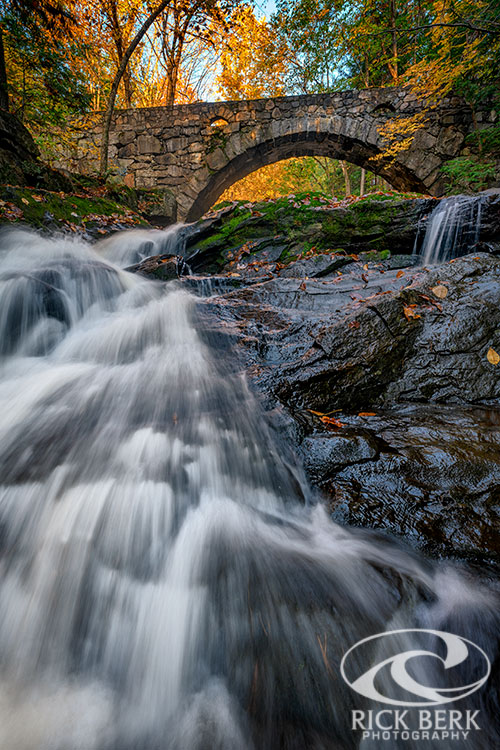 Autumn Waterfall in Hallowell