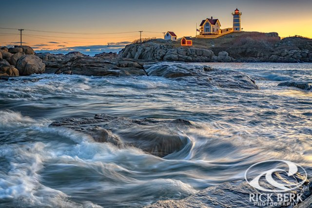 December Morning at the Nubble